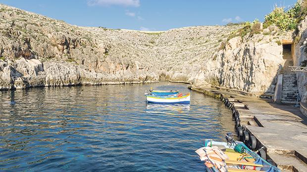 Wied iż-Żurrieq: The Qrendi council will not give permission for barbecues to be held in this seaside spot popular with bathers in summer. Photo:Shutterstock