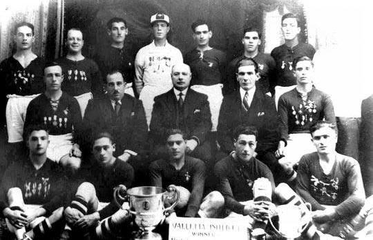 Valletta United, 1931-32 league champions.