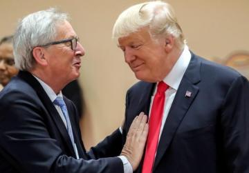 EU's Juncker to visit Trump to talk trade on July 25