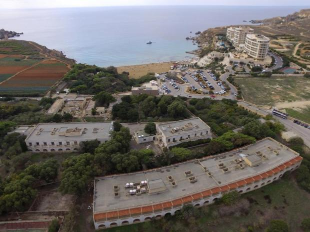 The abandoned Hal Ferh Complex in Ghajn Tuffieha on October 27, which was to have been developed by Island Hotels, is now in the process of being transferred to an affiliate of the Corinthia Group after a successful takeover bid. Photo: Matthew Mirabelli