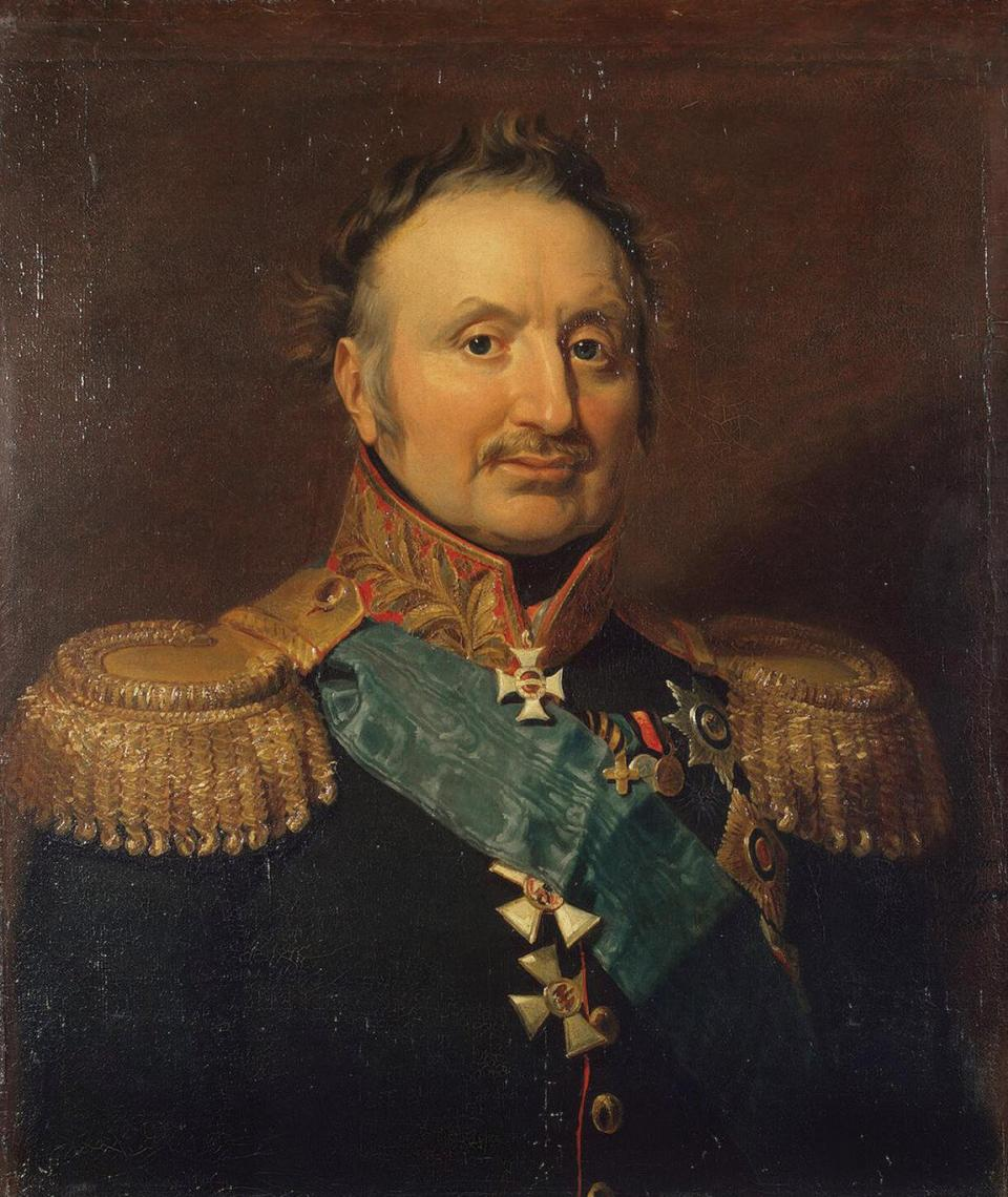 General Peter Wittgenstein, first commander-in-chief of the Russian forces in the 1828-1829 war.