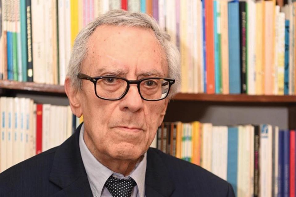 Oliver Friggieri: A great writer, novelist, poet, philosopher, literary and political critic. Photo: Mark Zammit Cordina