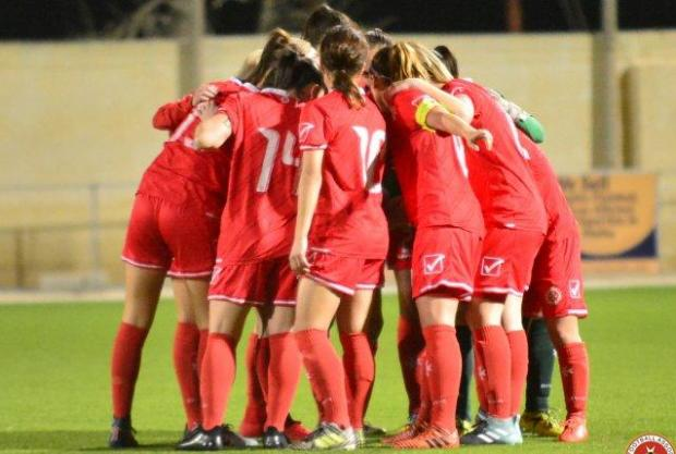 The Malta women national team will be holding a training camp in Austria. Photo: Joe Borg