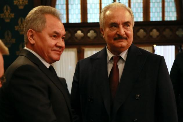 Libya's Haftar left Moscow without signing ceasefire deal - Russia