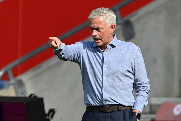 Watch: Mourinho grants wish to reporter after touching exchange