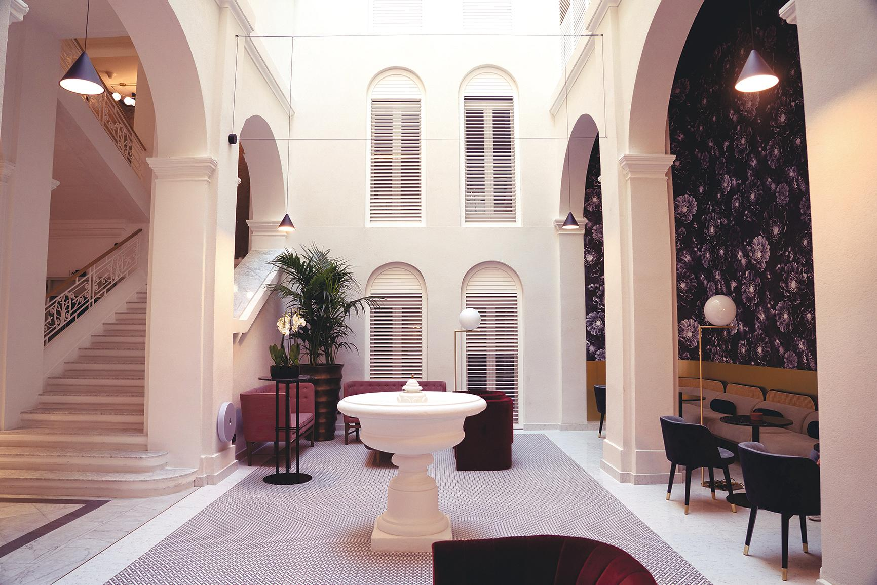 Rosselli hotel in Valletta, by Forward Architects