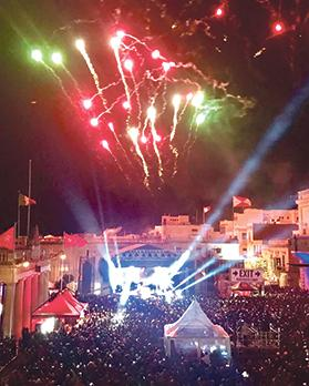 Valletta is reported to have done very well in terms of business over the festive season.