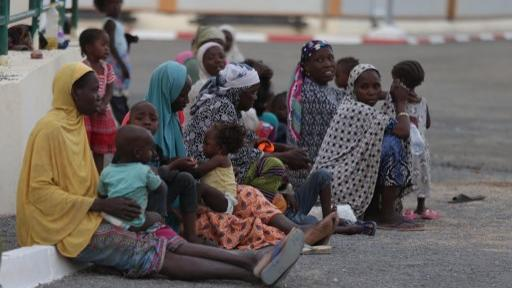 African migrants in Algeria. Photo: AFP
