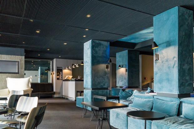 Submerge in fashionable Kolonaki, Periscope's executive lounge.