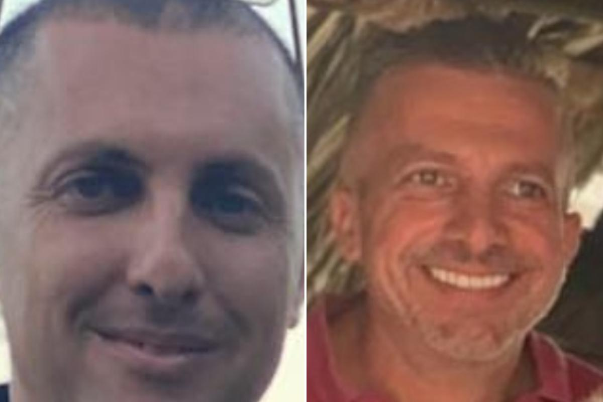 Robert (left) and Adrian (right) Agius were arrested on Tuesday in connection with the murder of journalist Daphne Caruana Galizia.