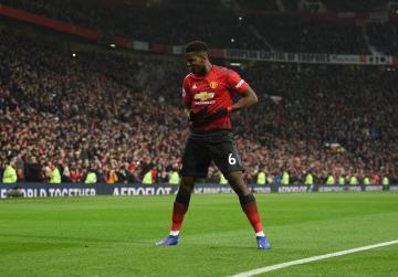 Watch: Pogba rejoices as Man Utd extend Solskjaer's winning start