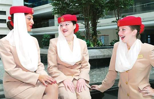 Emirates Open Day for cabin crew recruitment