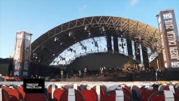 Preparations for Joseph Calleja concert in full swing