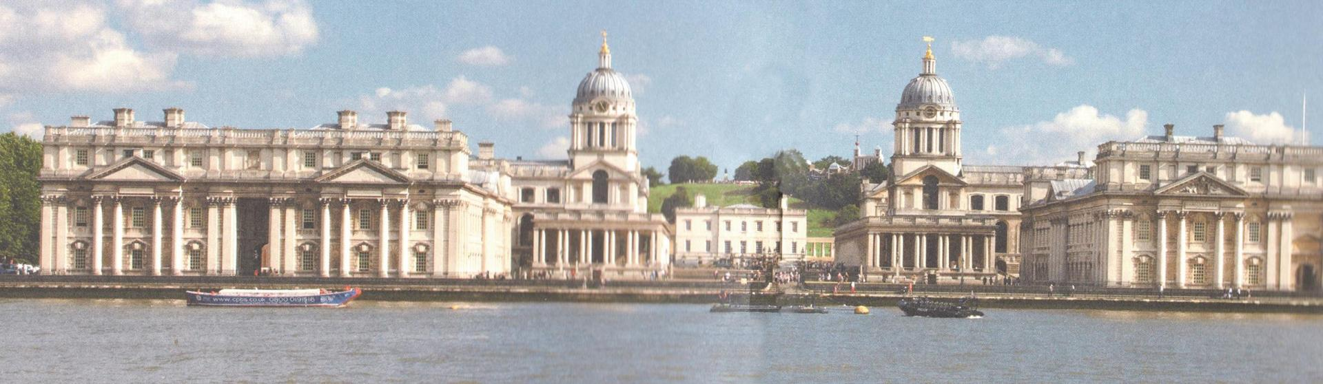 The chapel in the Old Royal Naval College at Greenwich, dedicated to saints Peter and Paul.
