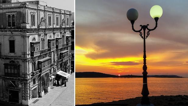 Valletta. Photo: Martin Xuereb. Right: Buġibba. Photo: Claudia Sciberras