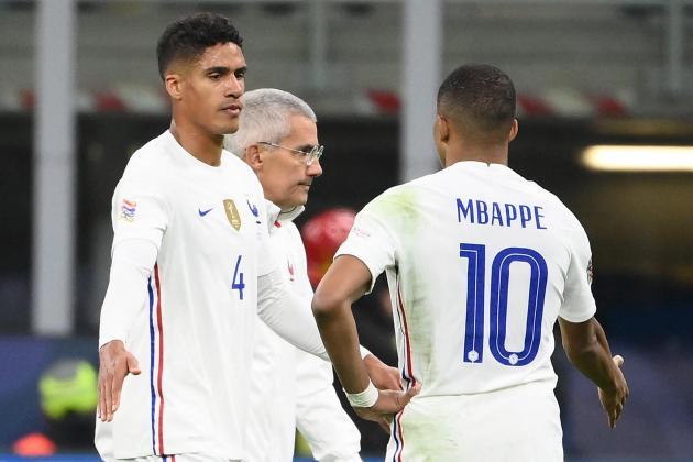 Varane injury leaves Manchester United short on centre-backs