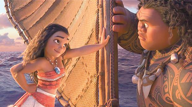 Moana follows the adventures of a girl who sets out to break a cursein ancient Polynesia.