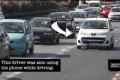Watch: 42 vehicles break the law in 15 minutes on Marsa priority lane