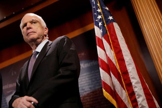 Senator McCain. Photo: Reuters