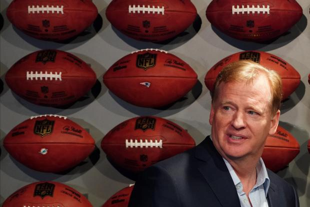 Commissioner of the NFL Roger Goodell is pictured at an event in the Manhattan borough of New York City, New York.