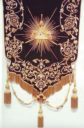 Sopratovaglia (1894) for the altar of the Holy Trinity.