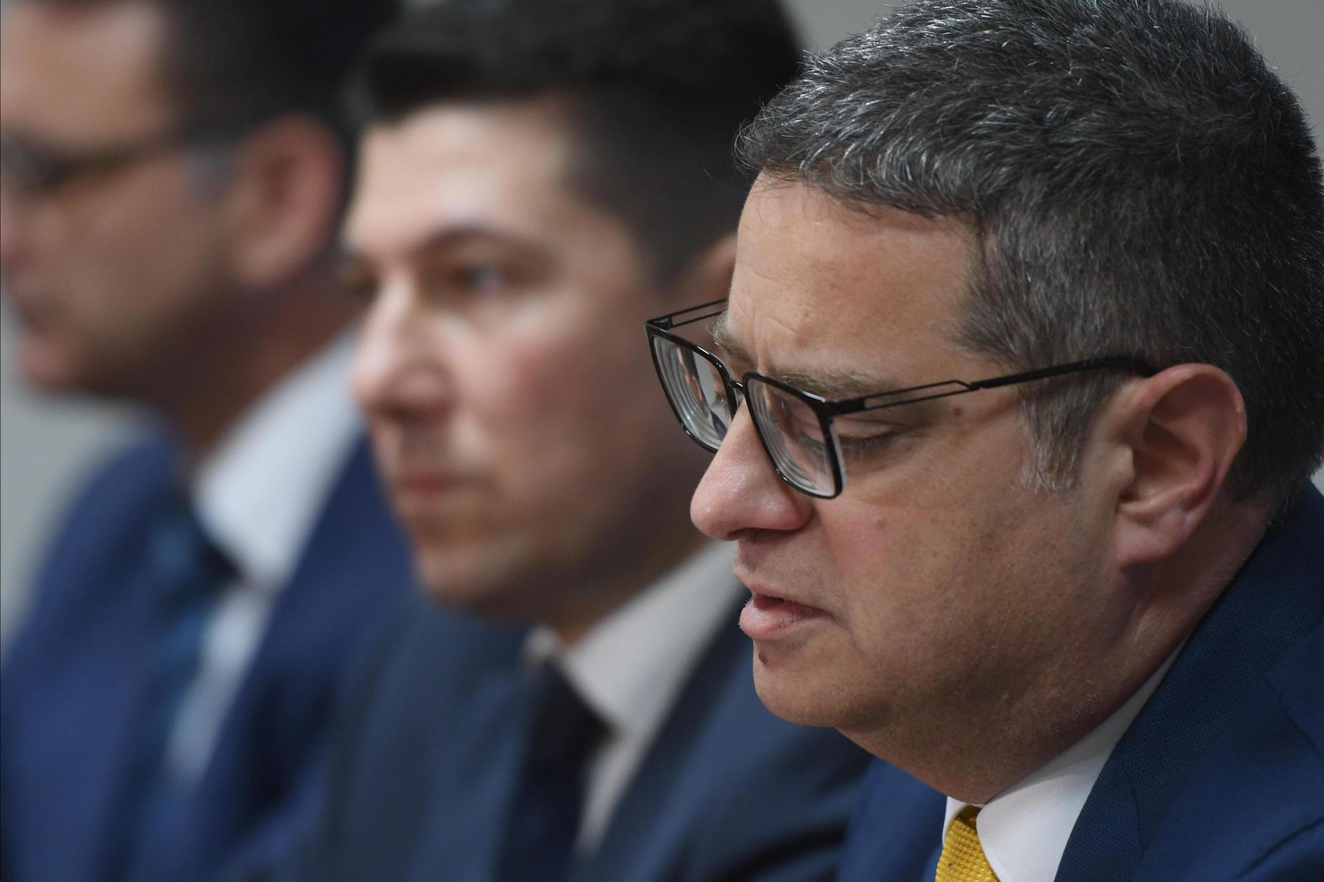 Clyde Puli (centre) is the third major PN figure to quit this week, as party leader Adrian Delia faces growing pressure to quit.