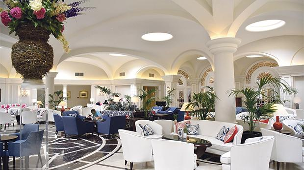 The refurbished lobby area of The Phoenicia Malta. Photos: Mark Zammit Cordina
