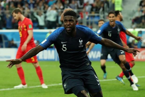 Samuel Umtiti scored the all-important goal that sent France into the World Cup final.