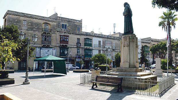 St Paul's Square in Ħamrun. Photo: Matthew Mirabelli