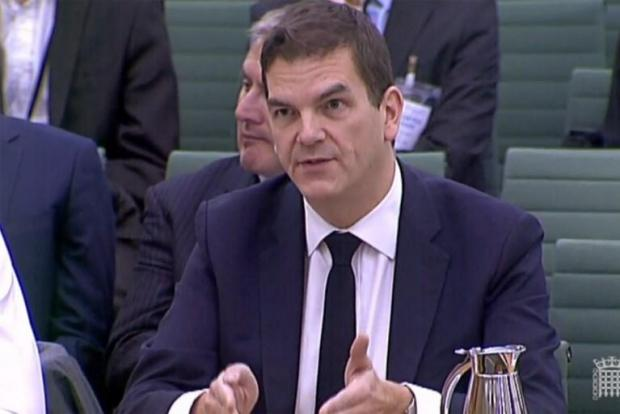 Olly Robbins was overheard talking to colleagues in a Brussels bar.