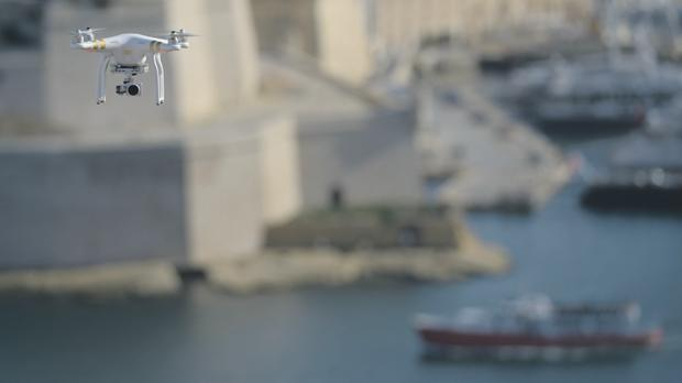 Drones flying over Malta have become a common sight. But it's still a free-for-all, with draft legislation yet to be finalised. Photos: Matthew Mirabelli