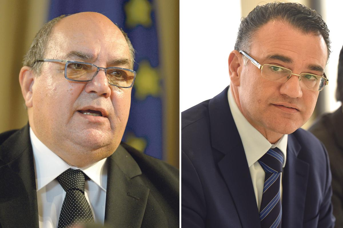 Two examples of MPs on government payroll: Labour MP Emanuel Mallia is the chairman of the Occupational Health and Safety Authority and PN deputy leader David Agius is a manager at the Malta Freeport Corporation.