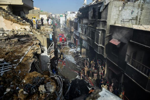 97 dead, two survivors in Pakistan plane crash