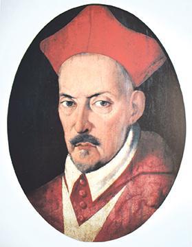 Portrait of Grand Master Hughes de Verdalle who ruled Malta when the Ciambanin murder occurred. Photo:Courtesy of Heritage Malta.