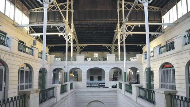 The Old Market in its present state. The Victorian-era cast iron structure is rare in Malta. Photo: Mark Zammit Cordina