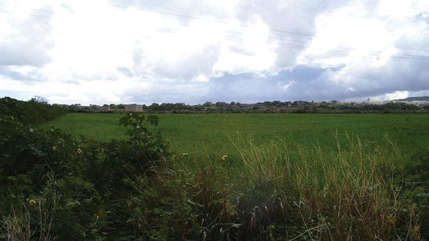 The area where Arriva had proposed to set up its depot.