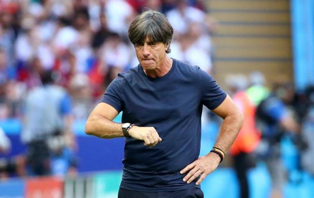 Germany coach Joachim Loew faces the sack after World Cup elimination.