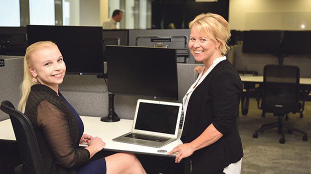 From left: Marjo Kukkonen, development manager Malta and Kati Leppänen, talent acquisition partner Malta. Photos: Mark Zammit Cordina
