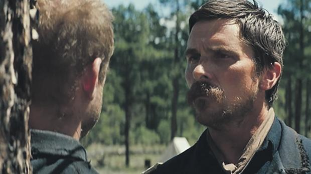Christian Bale plays a tough as nails army captain in Hostiles.