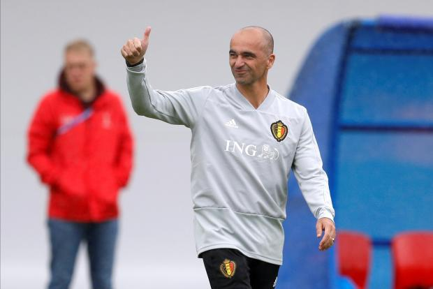 Belgium coach Roberto Martinez wants his players to play as a team against France.