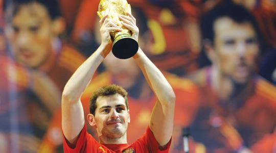 Inspirational... Iker Casillas.