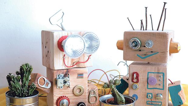 Simple everyday items can be turned into toys.