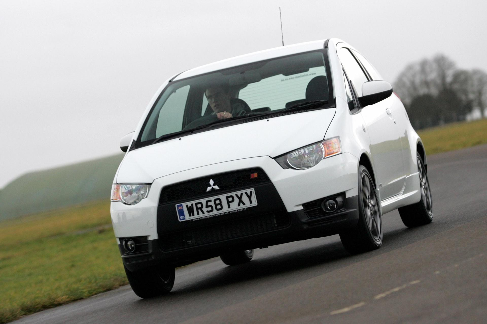 Mitsubishi packed a punchy 1.5-litre engine into the Colt Ralliart. (Mitsubishi)