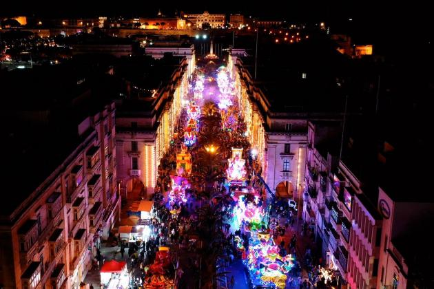 Watch: Drone video shows Carnival from above
