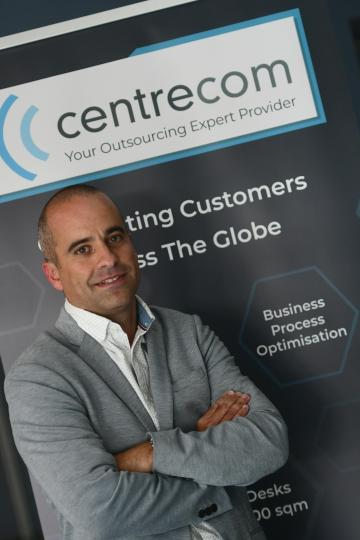 Centrecom general manager Robert Spiteri. Photo: Jonathan Borg