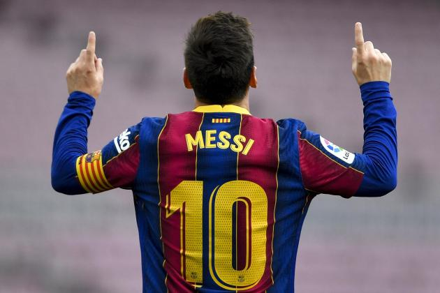 Laporta 'moderately optimistic' Messi will stay at Barca