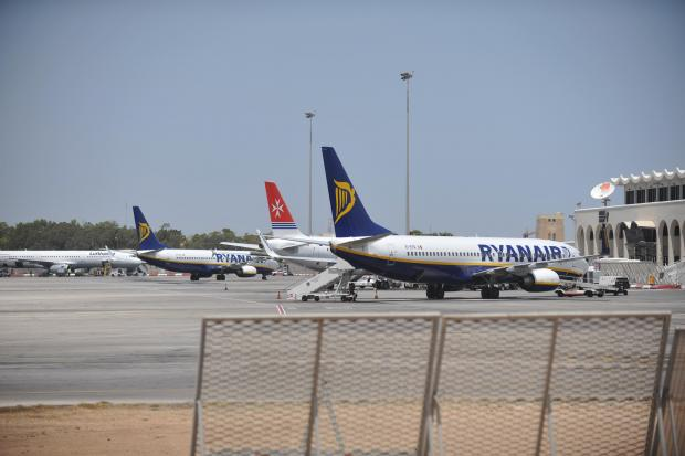 Ryanair has struck a similar deal with Air Malta. Photo: Chris Sant Fournier