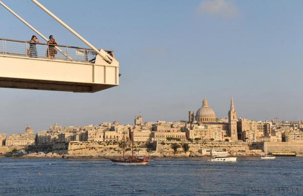 Valletta is seen from Tigne in Sliema on July 11. Photo: Chris Sant Fournier