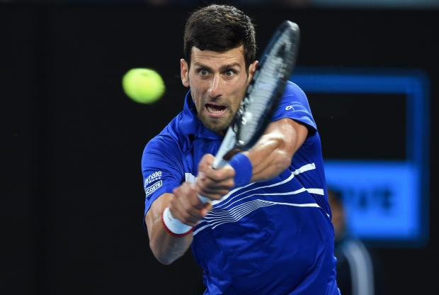 Novak Djokovic had a comfortable passage to the semi-finals.