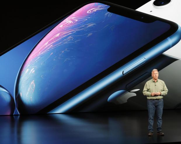 Philip W. Schiller, Senior Vice President, Worldwide Marketing of Apple, speaks about the new Apple iPhone XR.